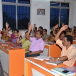 D.A.V. Public School, Berhampur ,Odisha: Teachers Participating in sessions.